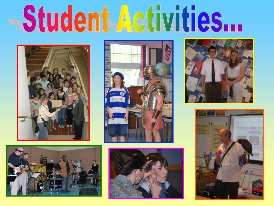 Student Activities...