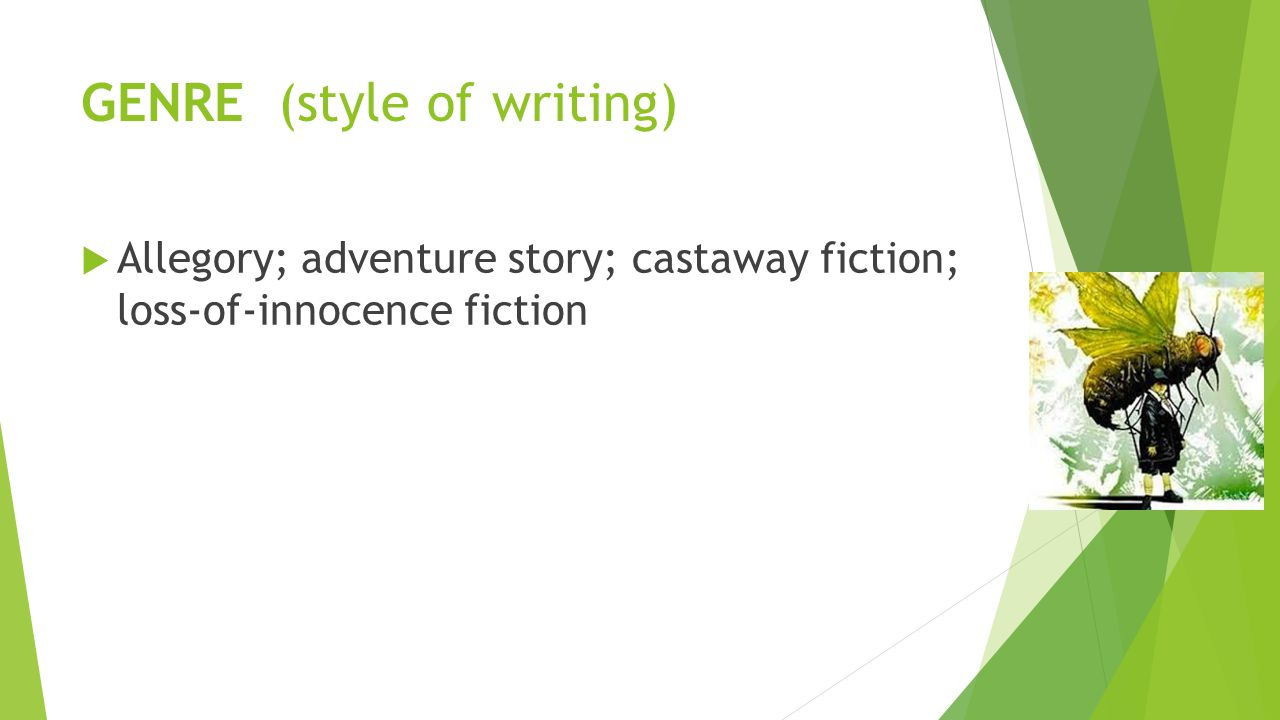 GENRE (style of writing)