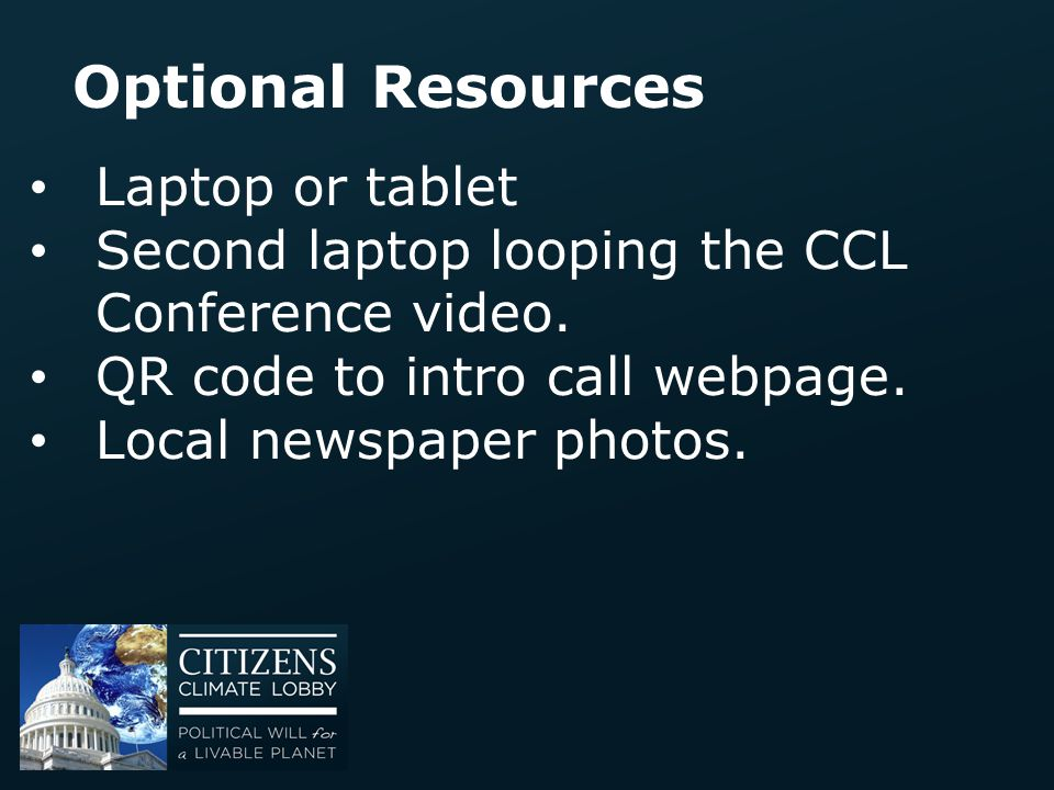 Optional Resources Laptop or tablet