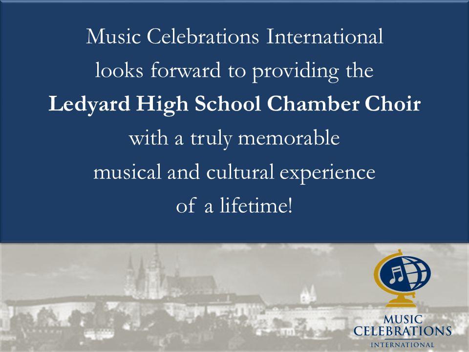 Ledyard High School Chamber Choir