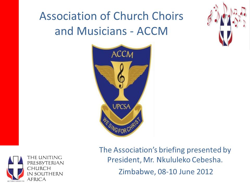 Association of Church Choirs and Musicians - ACCM