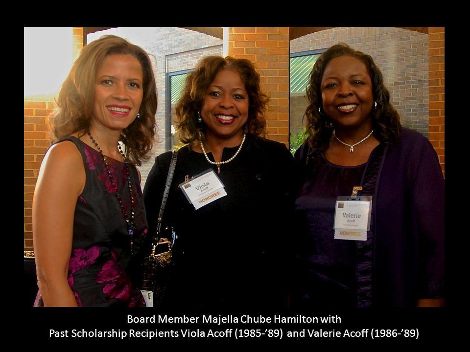 Board Member Majella Chube Hamilton with