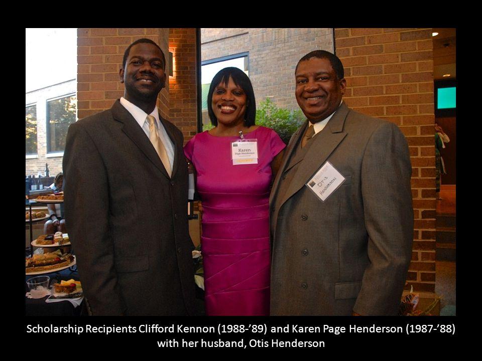 with her husband, Otis Henderson