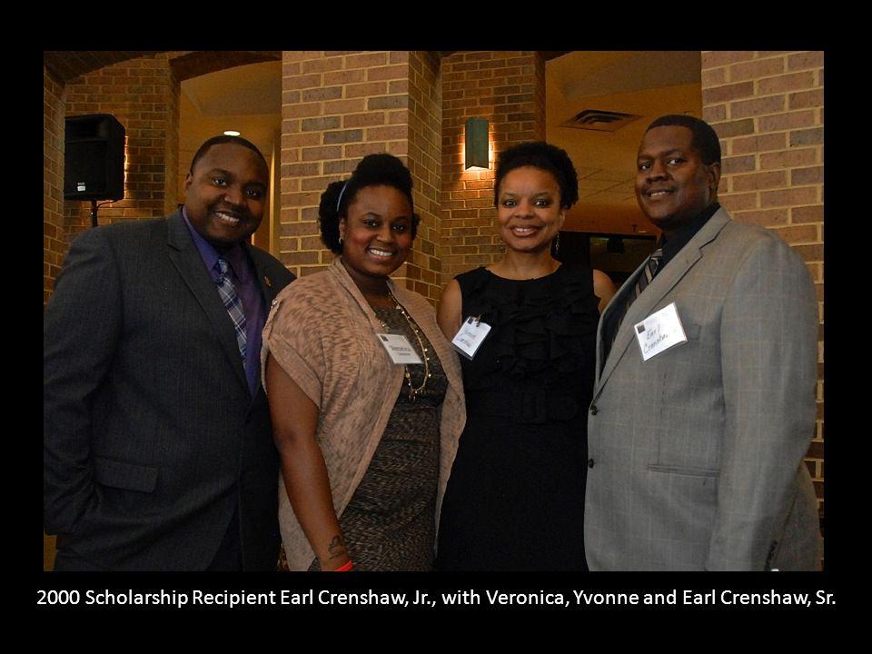 2000 Scholarship Recipient Earl Crenshaw, Jr