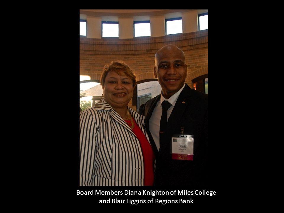 Board Members Diana Knighton of Miles College