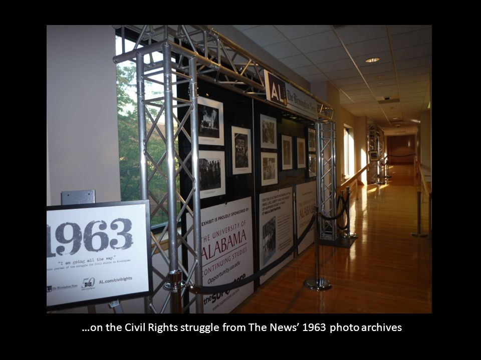 …on the Civil Rights struggle from The News' 1963 photo archives