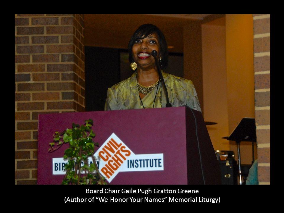 Board Chair Gaile Pugh Gratton Greene
