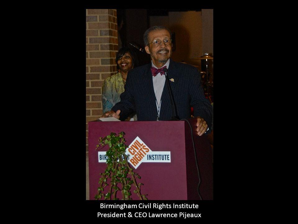 Birmingham Civil Rights Institute President & CEO Lawrence Pijeaux