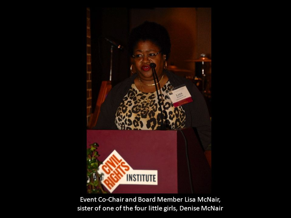 Event Co-Chair and Board Member Lisa McNair,