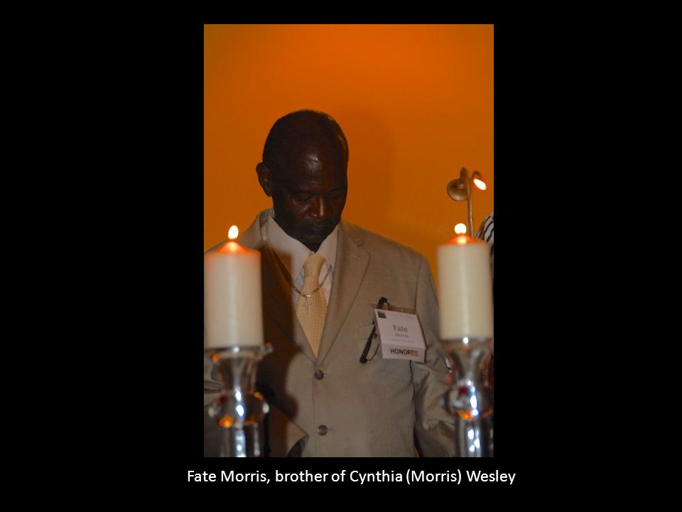 Fate Morris, brother of Cynthia (Morris) Wesley