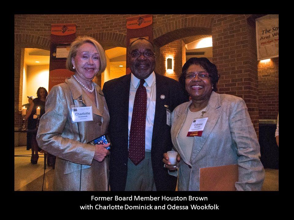 Former Board Member Houston Brown