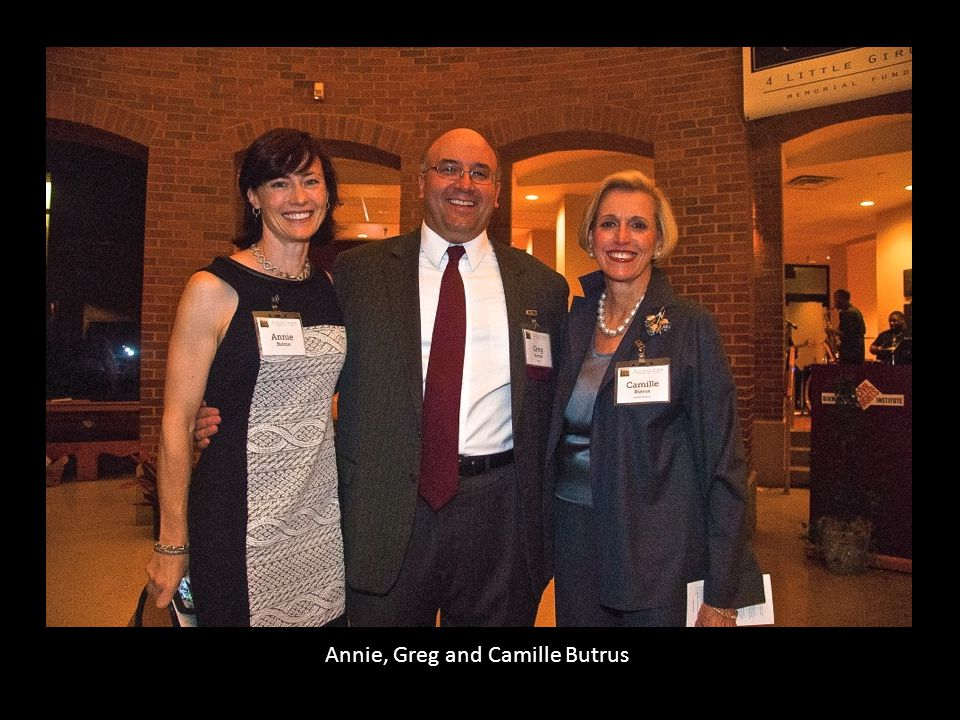 Annie, Greg and Camille Butrus
