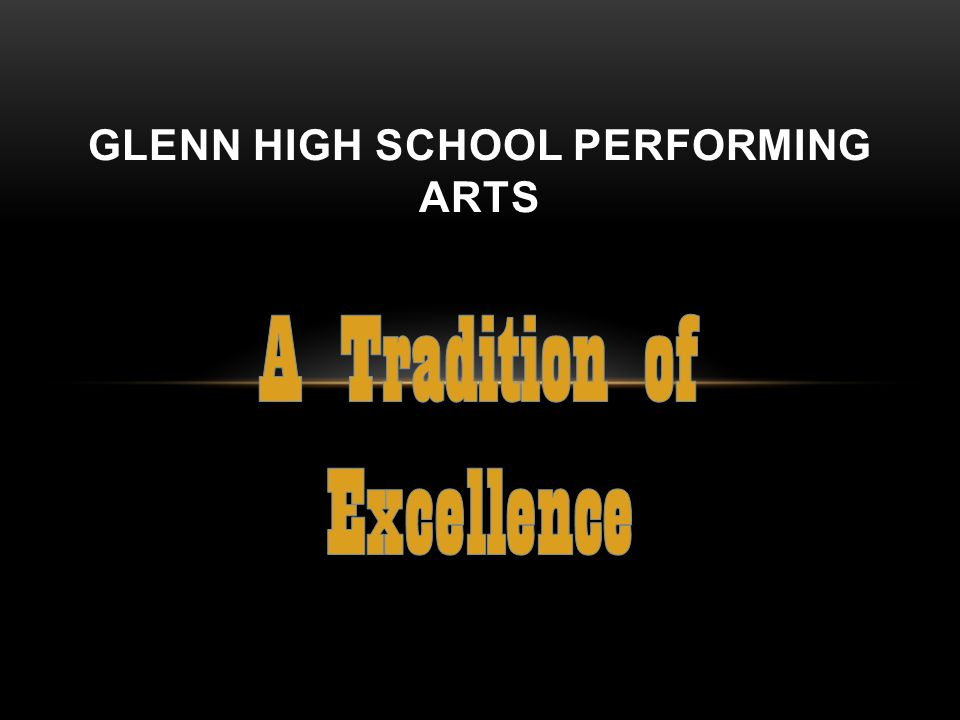 Glenn High School Performing Arts