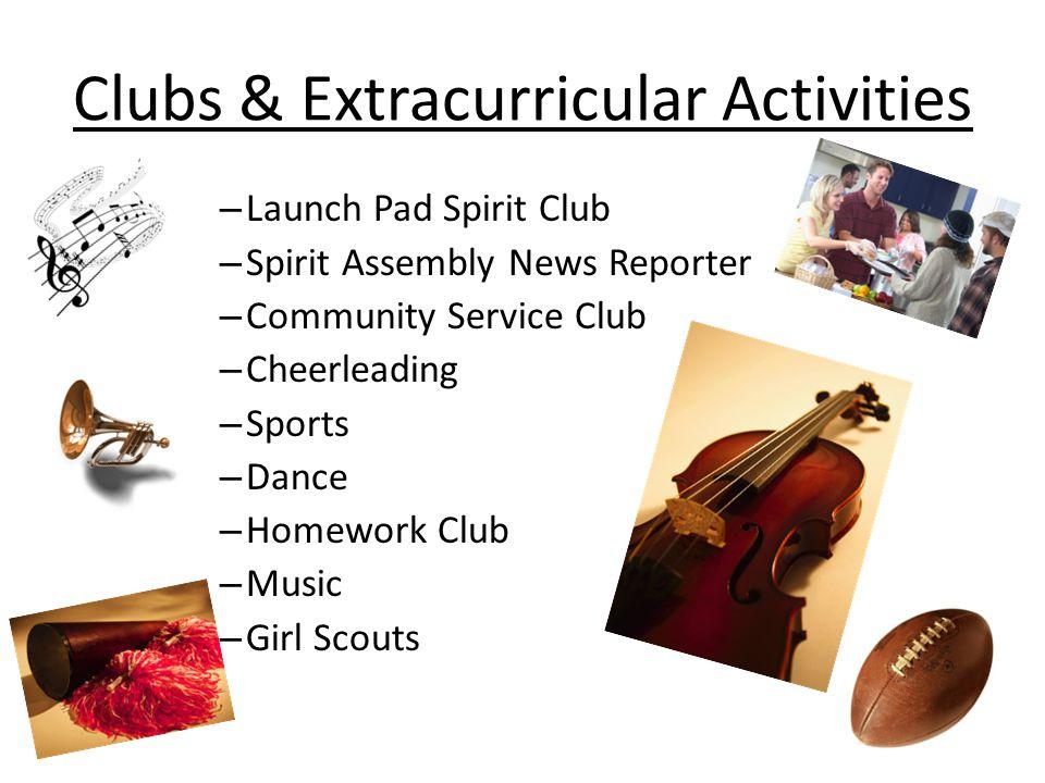 Clubs & Extracurricular Activities