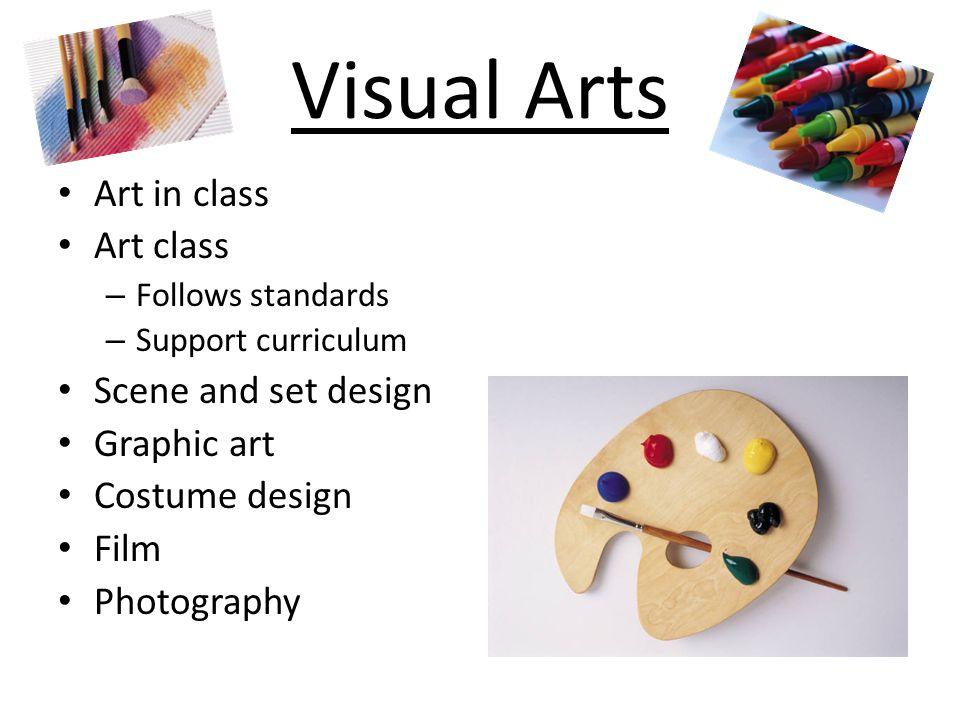 Visual Arts Art in class Art class Scene and set design Graphic art