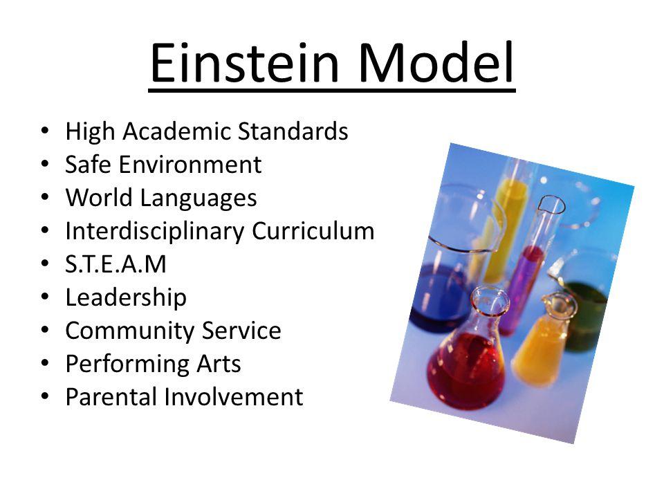 Einstein Model High Academic Standards Safe Environment
