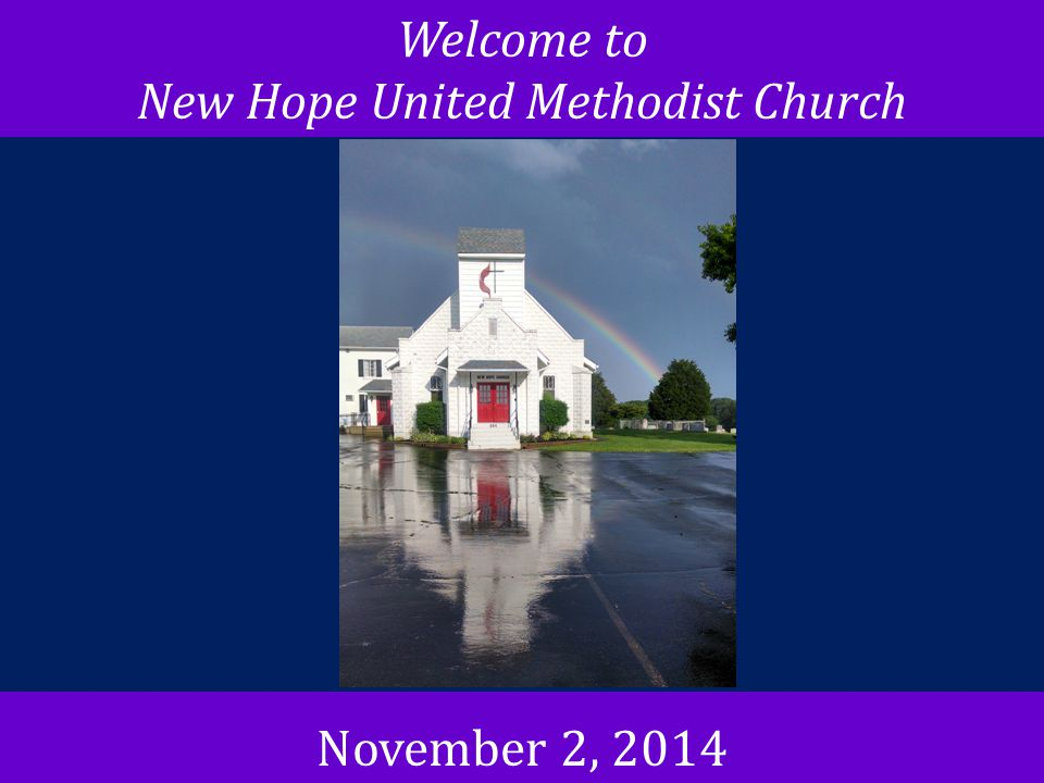 New Hope United Methodist Church
