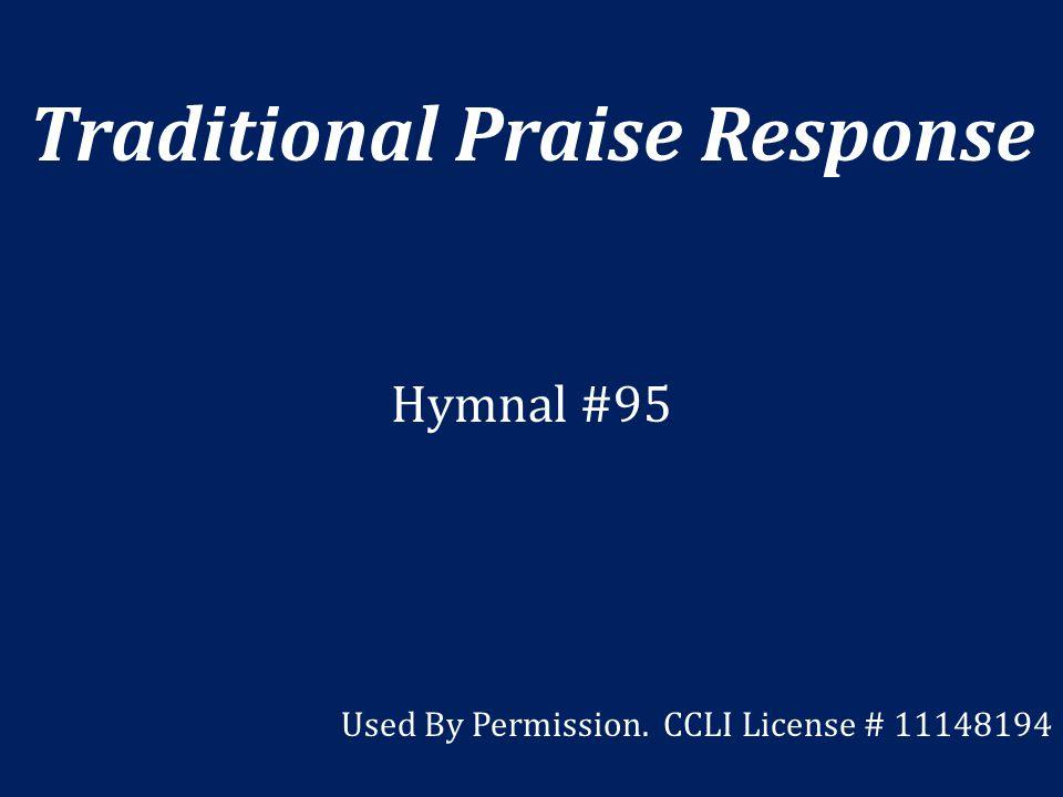 Traditional Praise Response