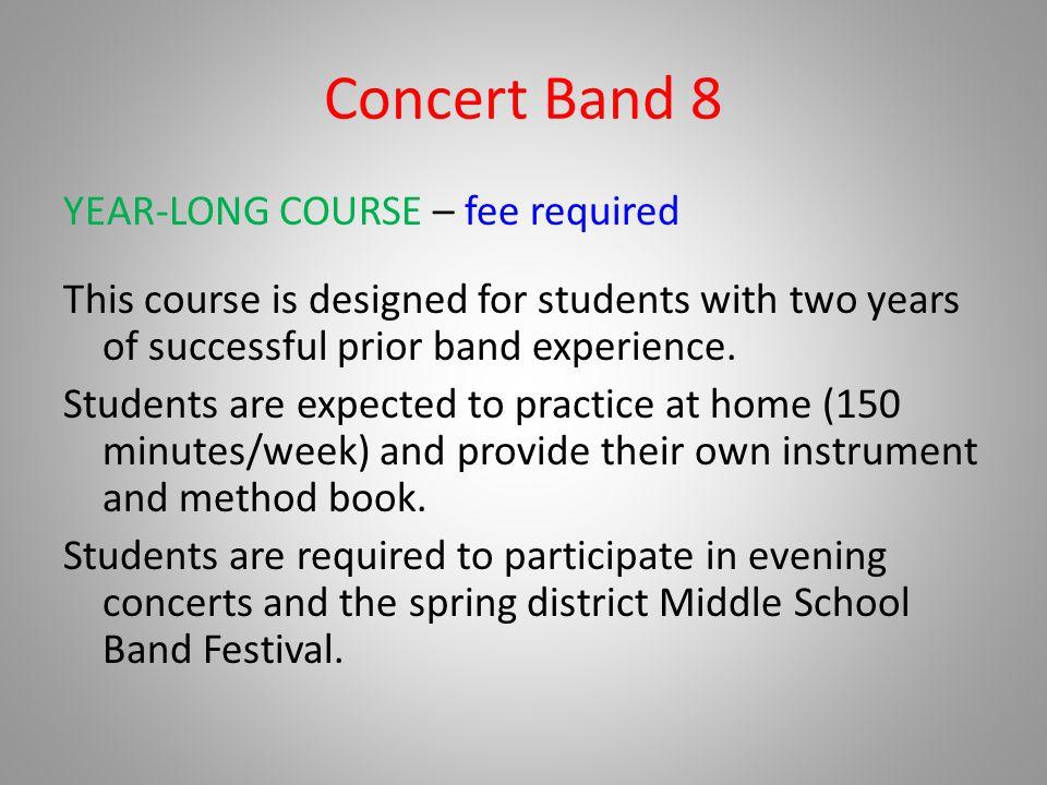 Concert Band 8