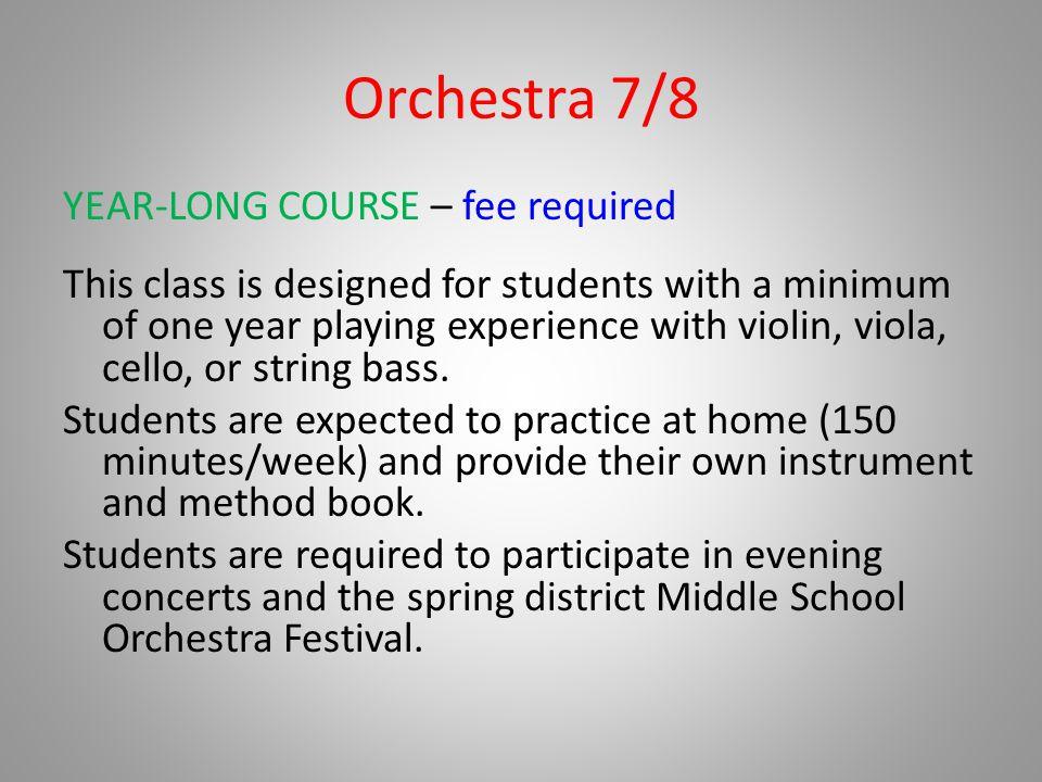 Orchestra 7/8