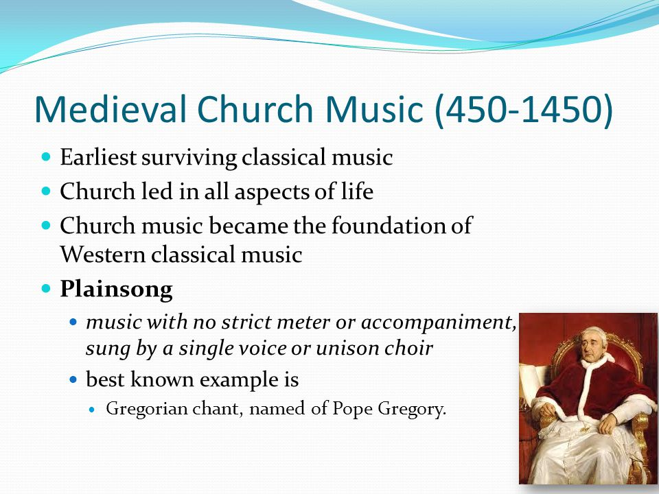 Medieval Church Music (450-1450)