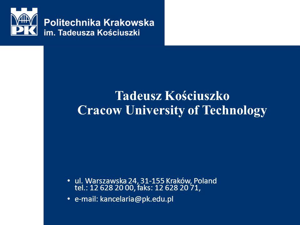 Tadeusz Kościuszko Cracow University of Technology