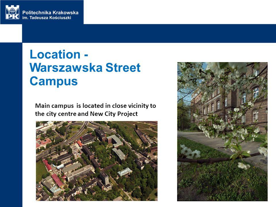 Location - Warszawska Street Campus