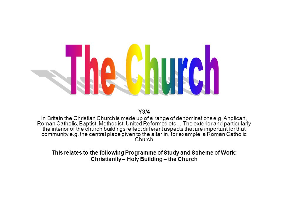 The Church Y3/4.