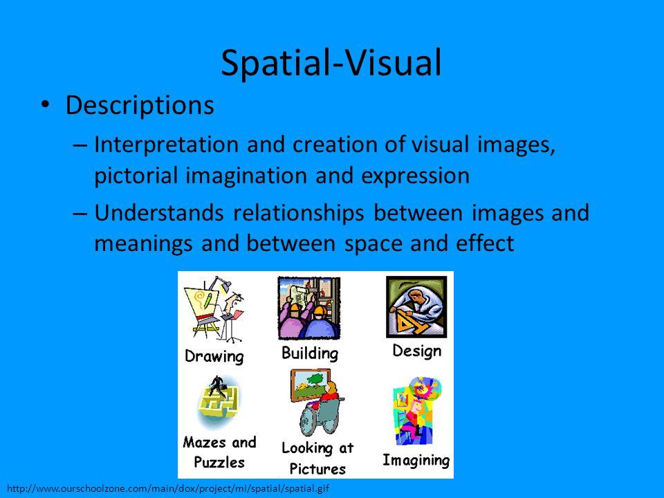 Spatial-Visual Descriptions