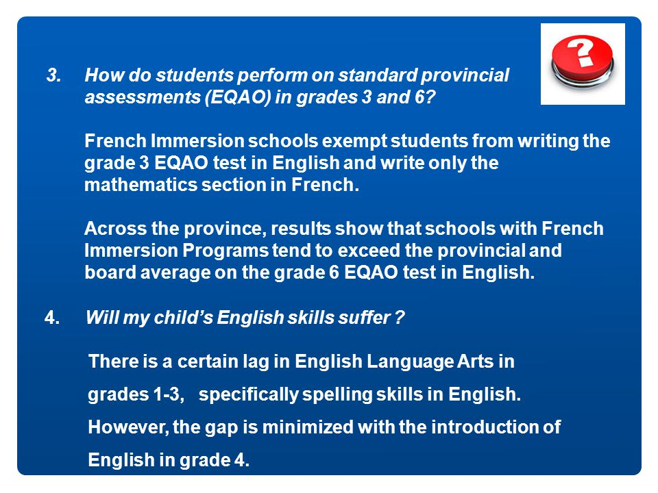 grades 1-3, specifically spelling skills in English.