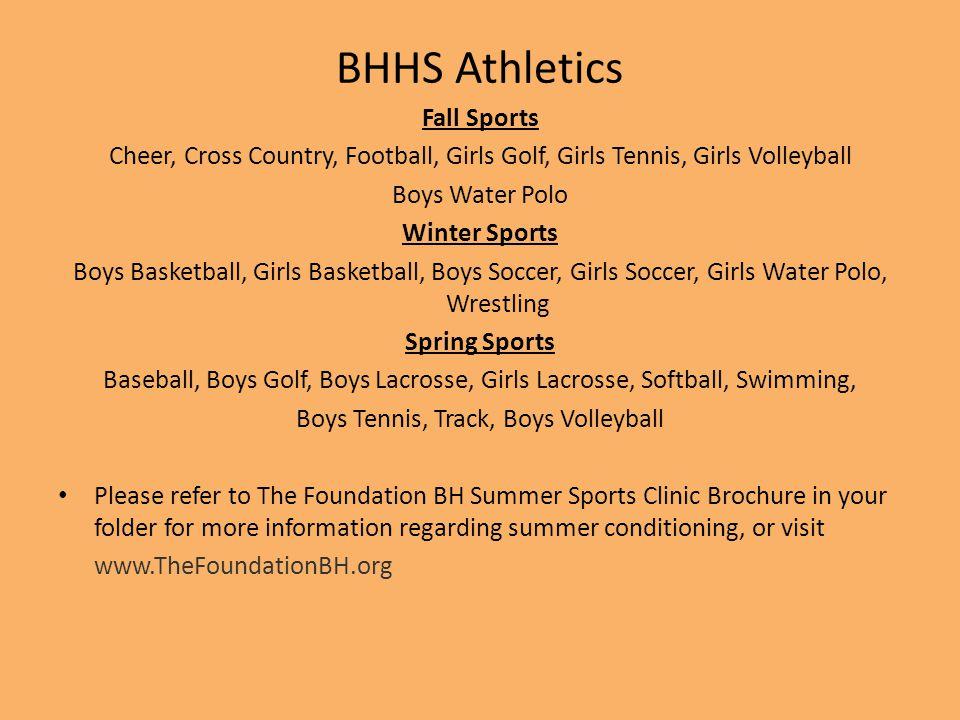 Boys Tennis, Track, Boys Volleyball
