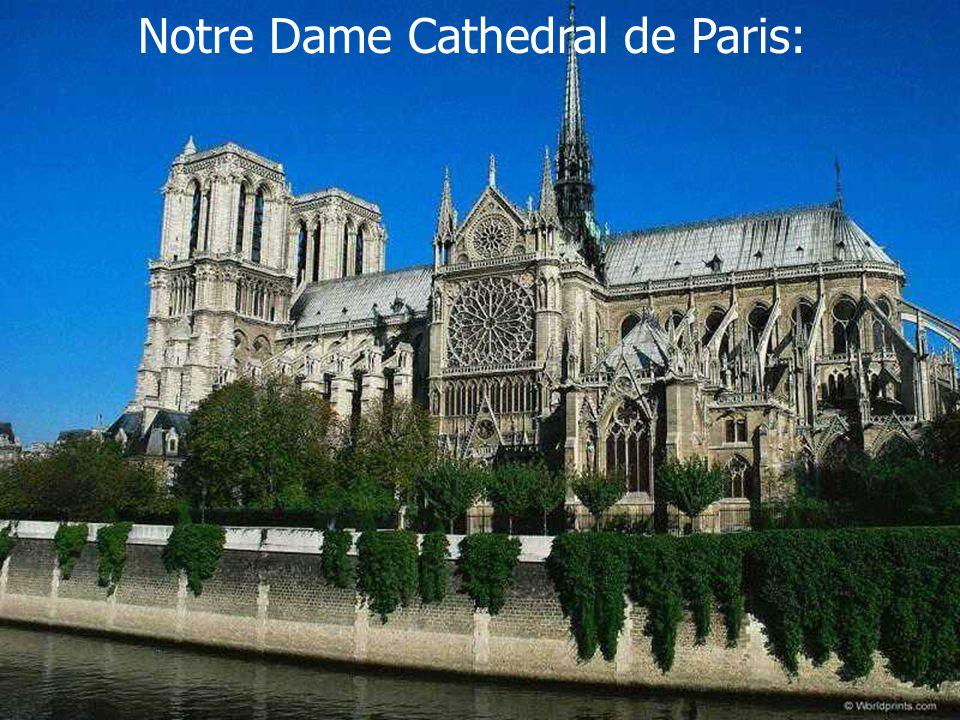 Notre Dame Cathedral de Paris: