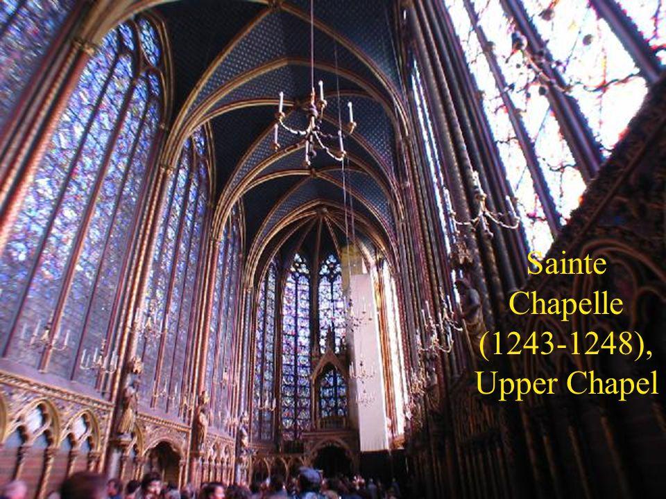 Sainte Chapelle (1243-1248), Upper Chapel