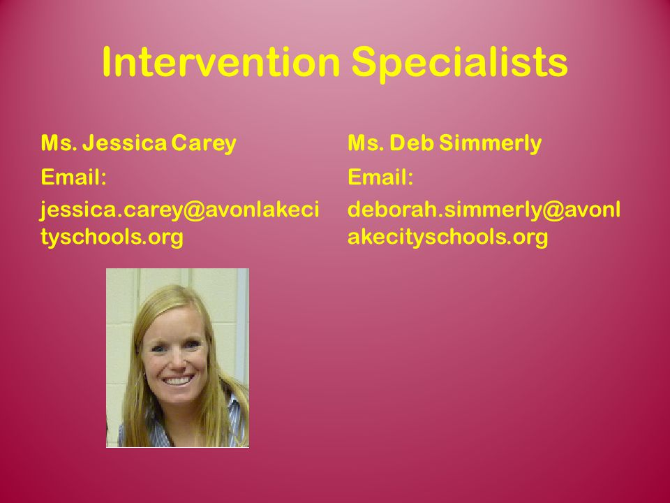 Intervention Specialists
