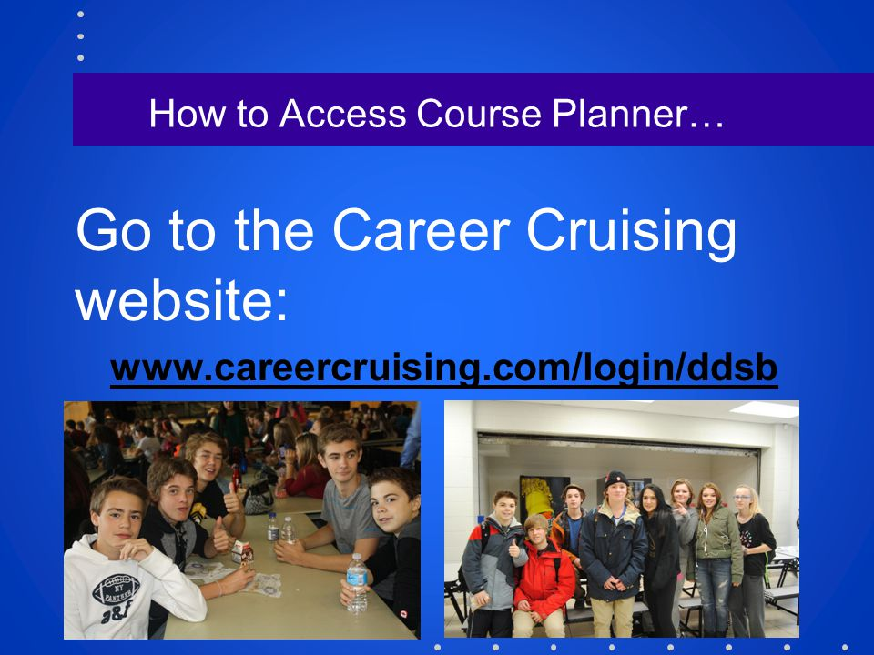 How to Access Course Planner…