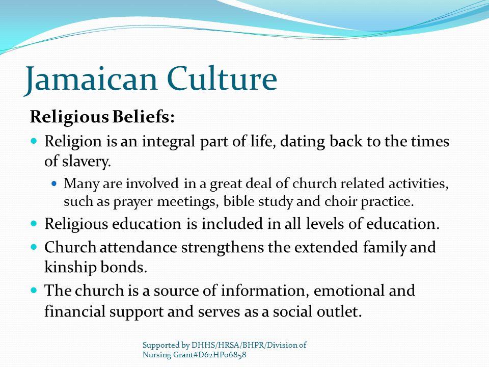 Jamaican Culture Religious Beliefs: