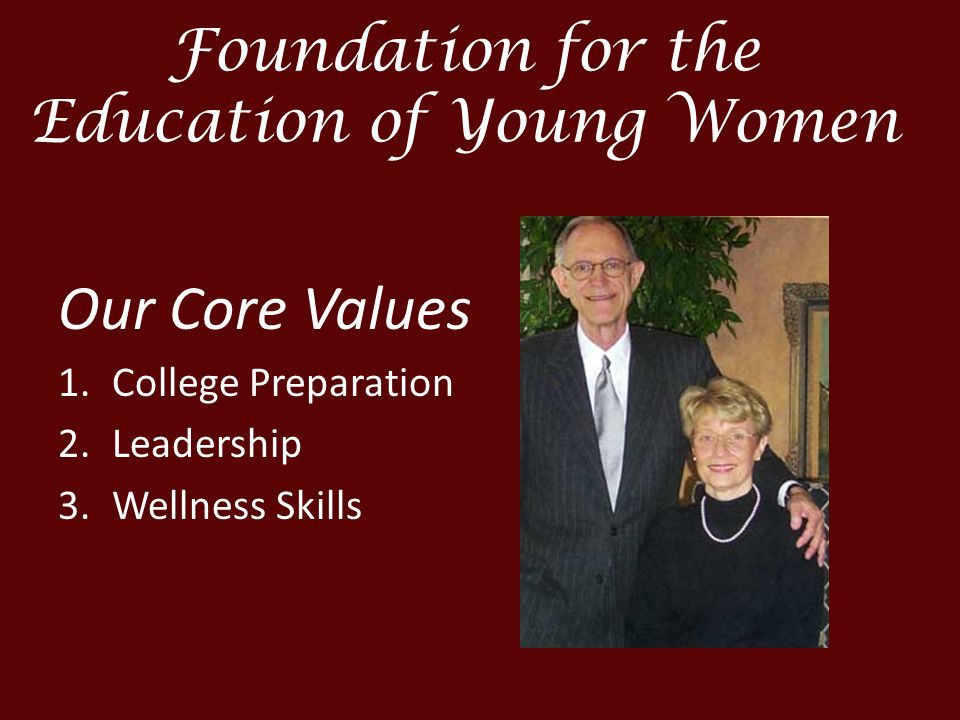 Foundation for the Education of Young Women