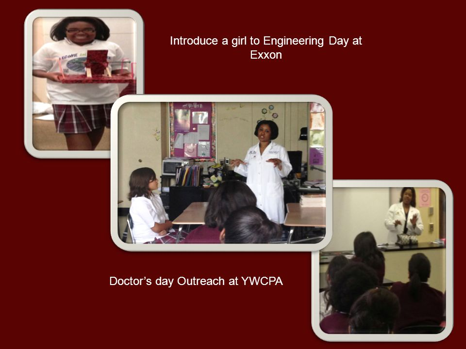 Introduce a girl to Engineering Day at Exxon