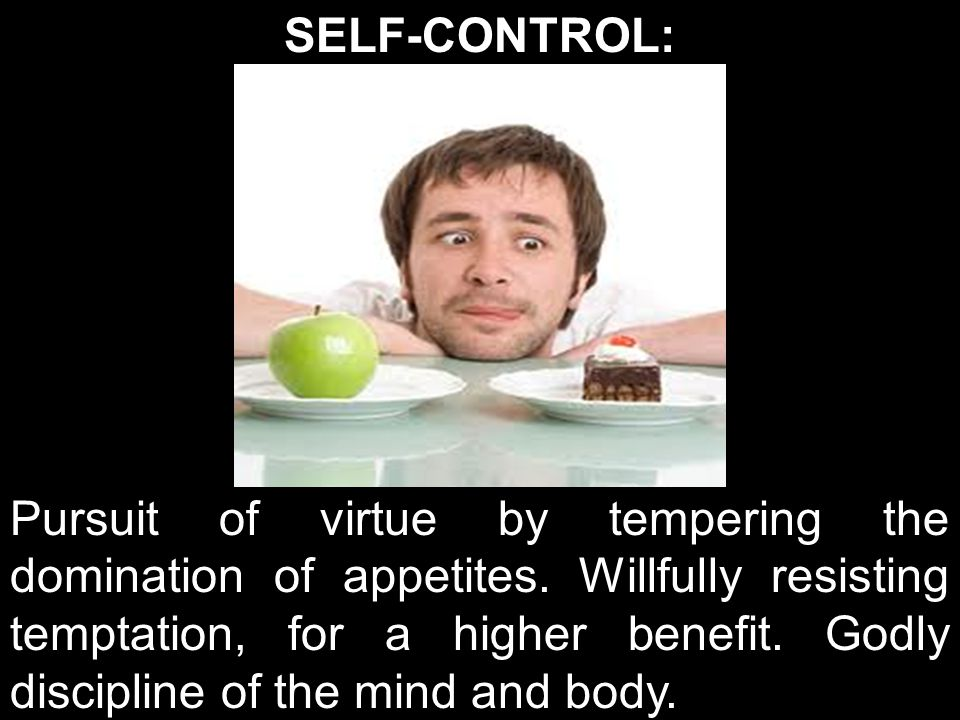 SELF-CONTROL: