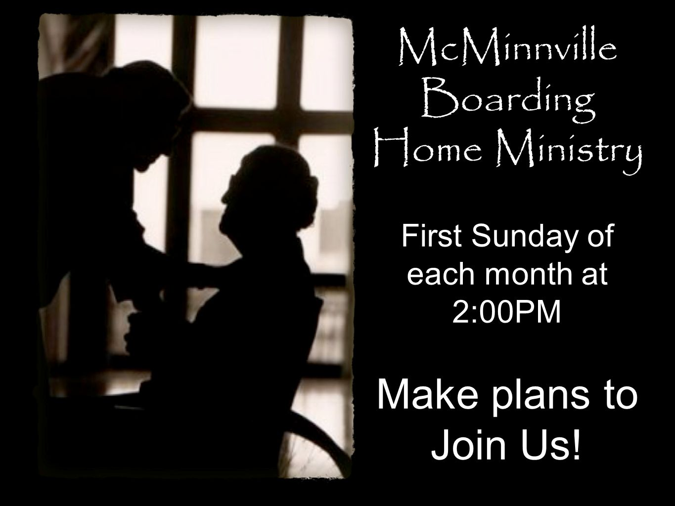 McMinnville Boarding Home Ministry