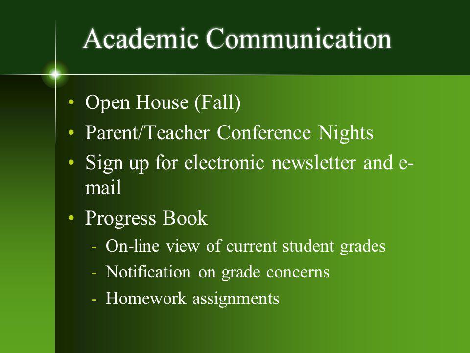 Academic Communication