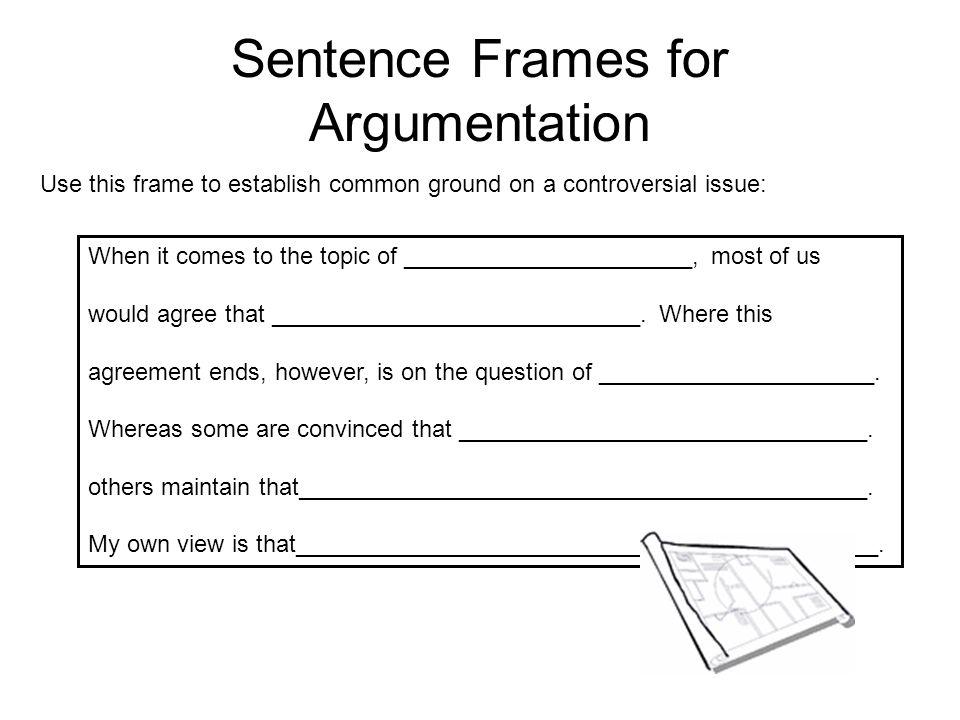 Sentence frames essay Essay Help tkessayacdq.patientenbeteiligung.info