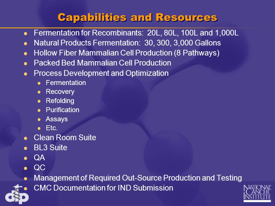 Capabilities and Resources
