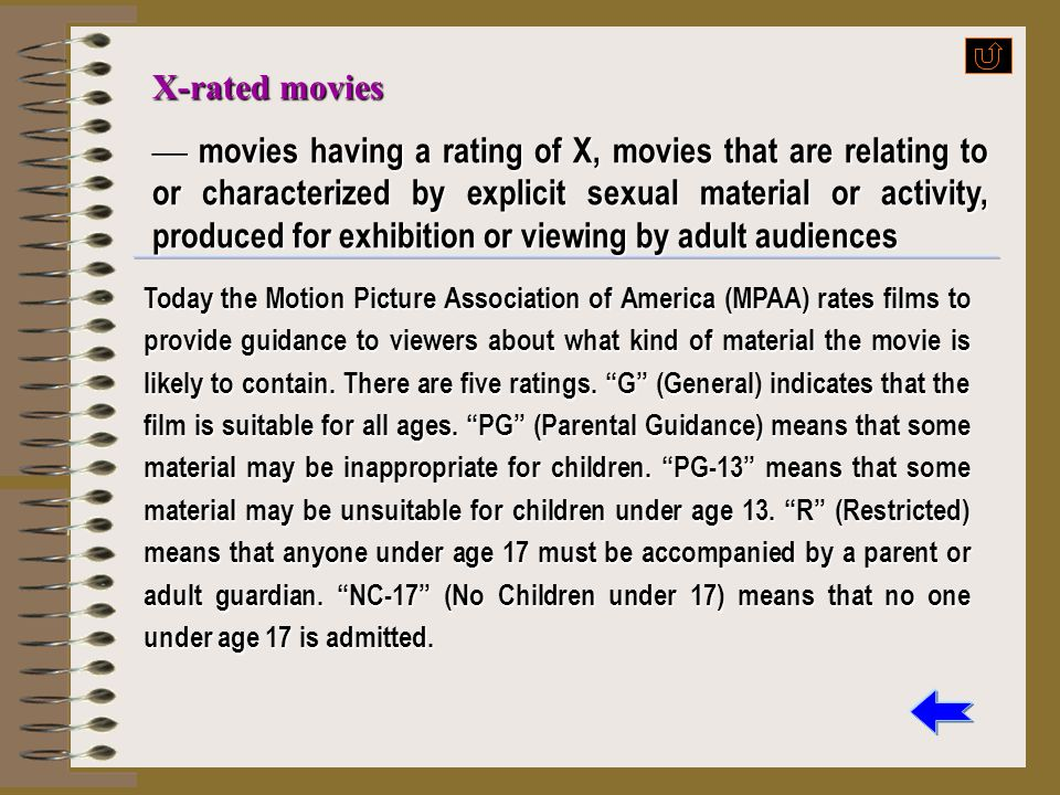 X-rated movies