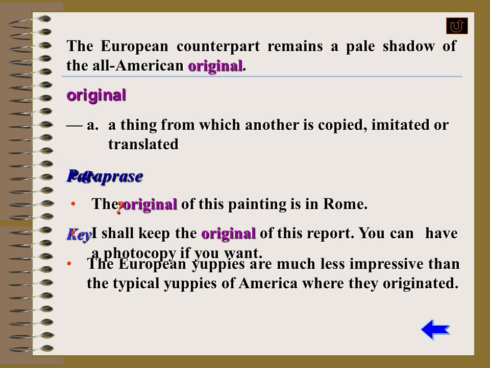 The European counterpart remains a pale shadow of the all-American original.