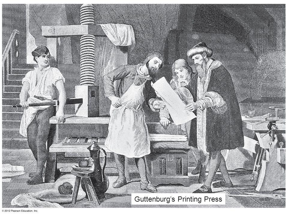 Guttenburg's Printing Press