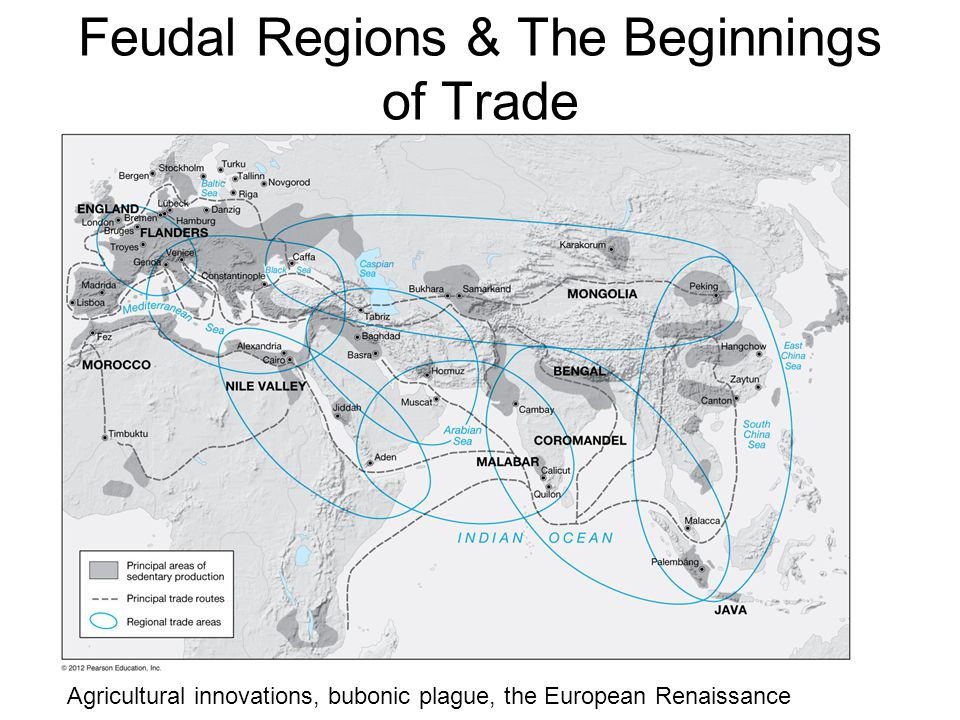 Feudal Regions & The Beginnings of Trade