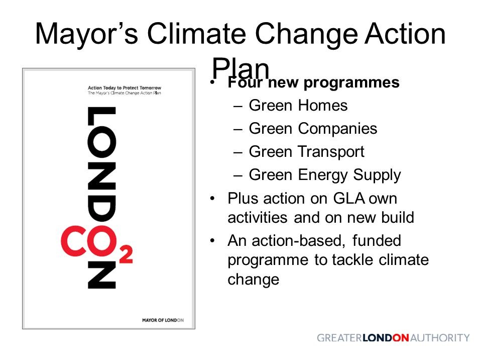 Mayor's Climate Change Action Plan