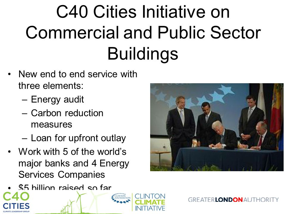 C40 Cities Initiative on Commercial and Public Sector Buildings