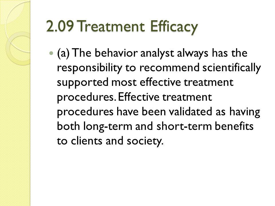 2.09 Treatment Efficacy